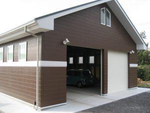 本田倉庫完成